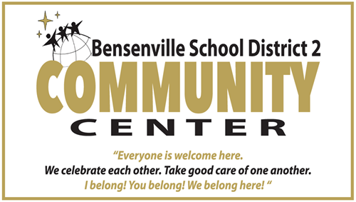 Image of the BSD2 Community Center Sign