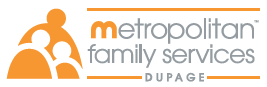 Image of Metropolitan Family Services of DuPage's logo