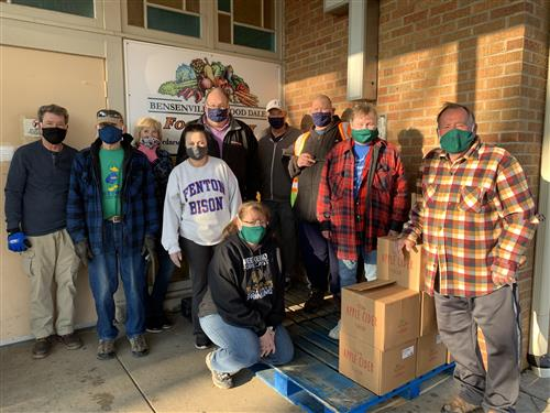 Photo of Bensenville-Wood Dale Food Pantry volunteers