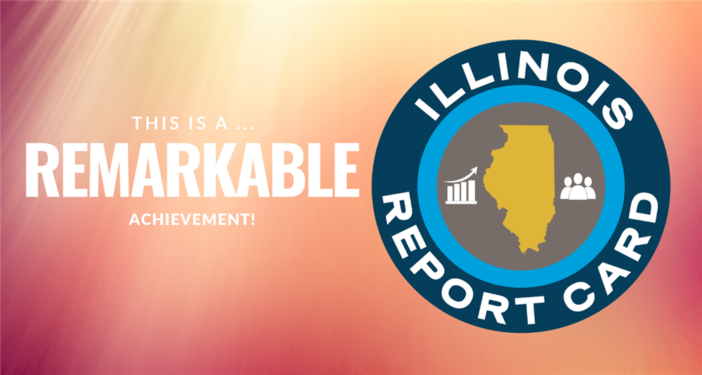 Image of Illinois Report Card logo