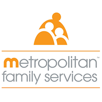 Image of Metropolitan Family Services logo