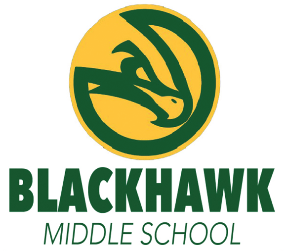 Image of Blackhawk Middle School logo