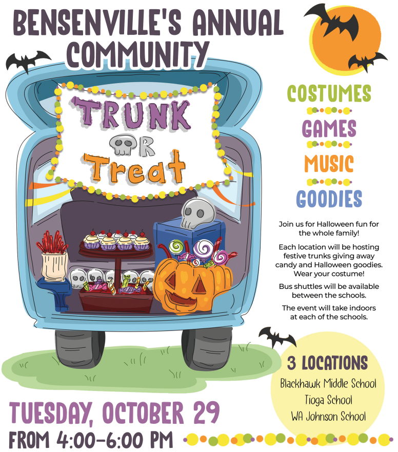 Image of BSD2 Trunk-o-Treat flyer - flyers details included in story