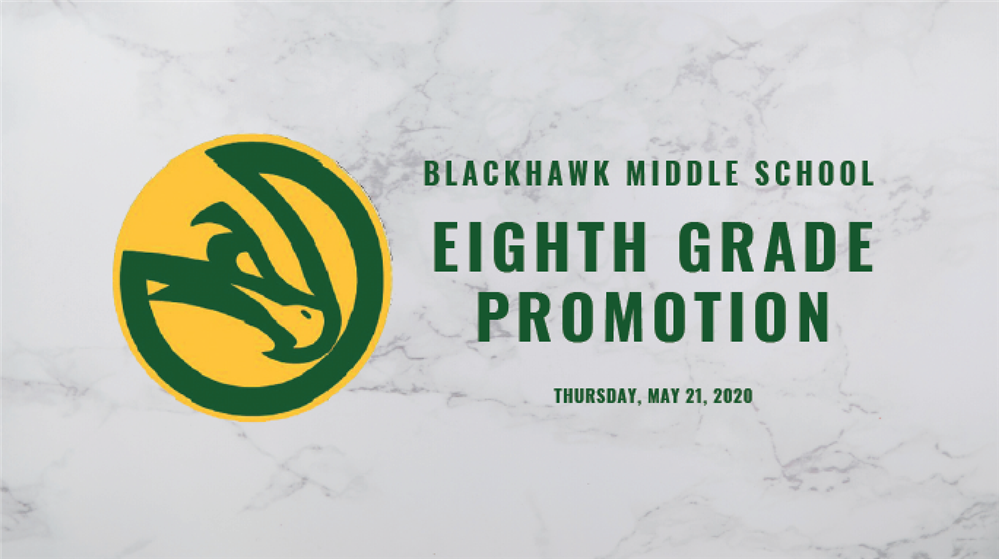 Clipart Image that says BMS Eighth Grade Promotion