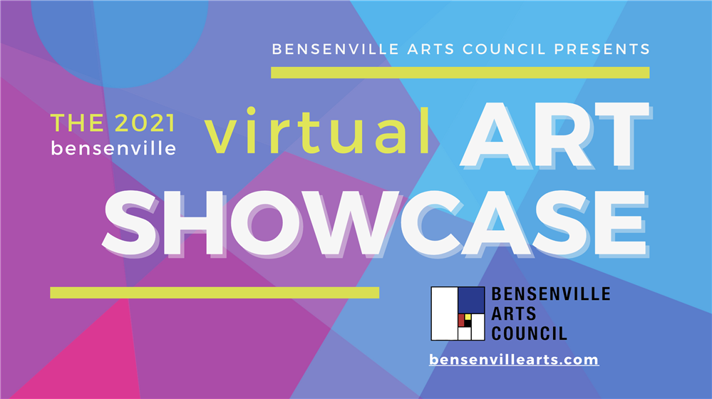 2021 Bensenville Virtual Art showcase logo